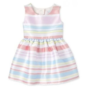 NWT • Children's Place Striped Dress • 18-24 mo